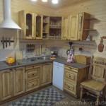 Кухня в гостевом домике